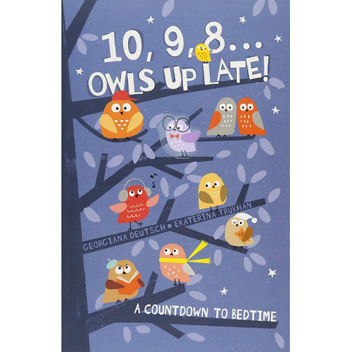 10,9,8 ... Owls Up Late!