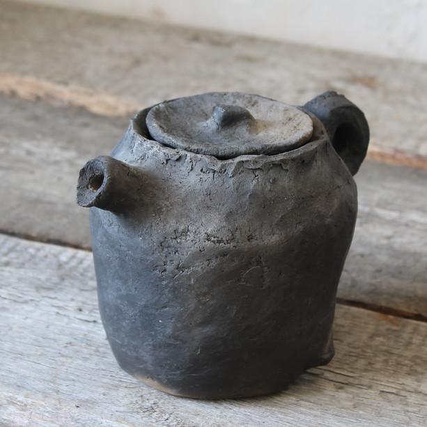 Wabi-sabi teapot