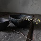 Rustic nesting bowl