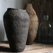 Wabi-sabi pottery