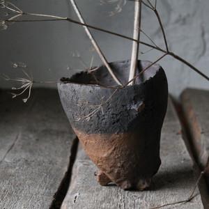 Wabi-sabi ceramic vase