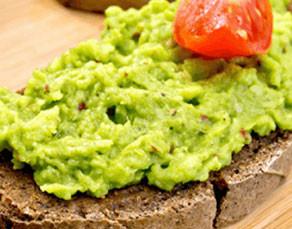 Avocado and Salsa on Ezekiel Toast