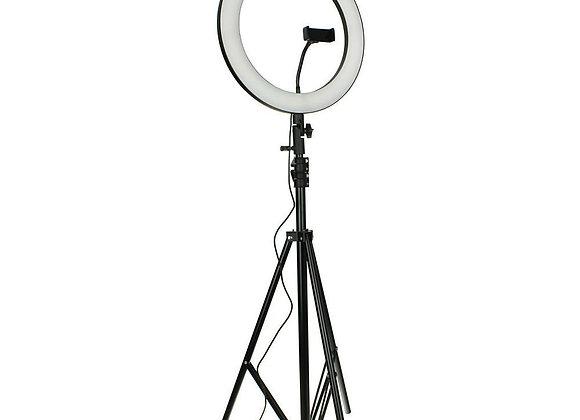 Кольцевая лампа FM536А (D 26см) пульт, штатив в комплекте