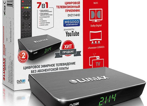Цифровой эфирный приемник LUMAX 2114