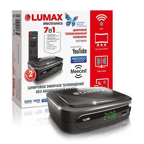 Цифровой эфирный приемник LUMAX 2108