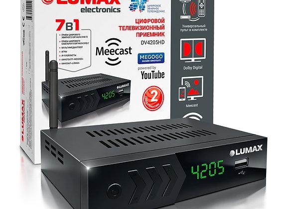 Цифровой приемник LUMAX DV4205HD (DVB-T2 +Wi-Fi встроен)
