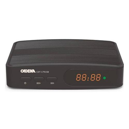 Приемник цифровой эфирный CADENA CDT-1791SB