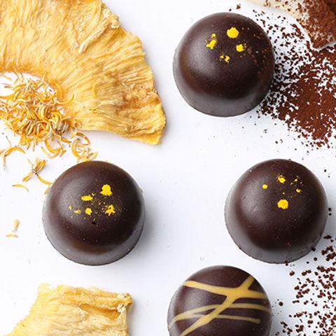 Chocolate Pineapple