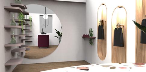Laflore- Bag store design