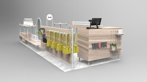 TikVTik retail mall stand
