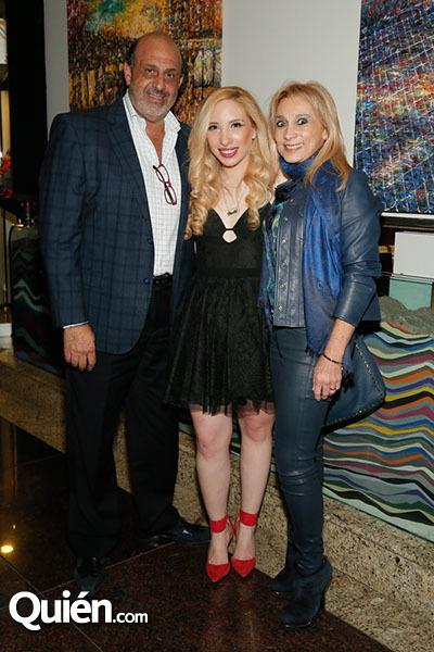 Rafaél, Paola y Sophy