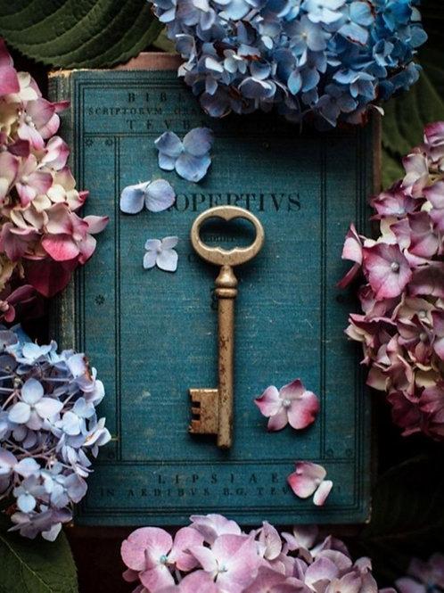 """Carte cadeau sophrologie  """"bien-être à la clé"""" : 1 séance de sophrologie"""