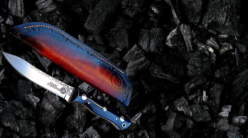 Marc Zabroski knife - smoking barrels prize