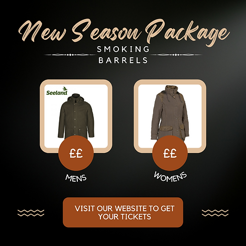 Community prize draw! New Season Package