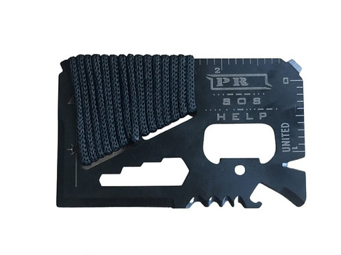Card Survival Tool Keychain