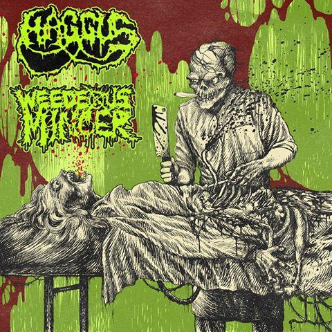 Weedeous Mincer Split CD