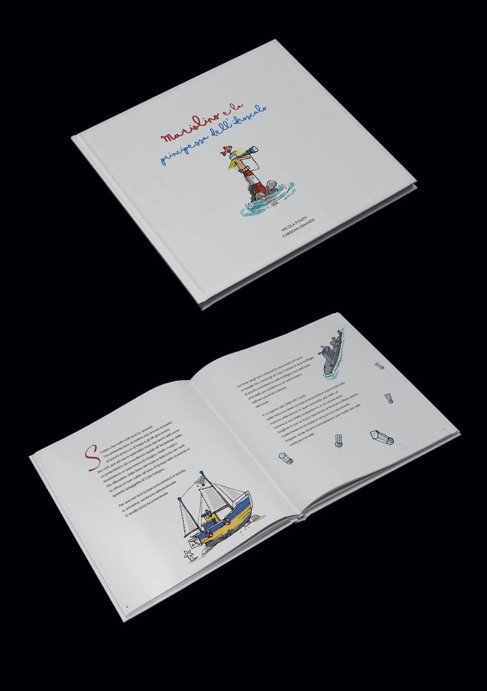 """Libro """"Mariolino e la principessa dell'idroscalo"""""""