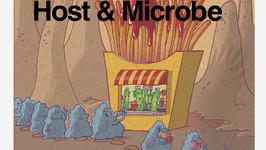"""Copertina per """"Cell Host & Microbe"""""""