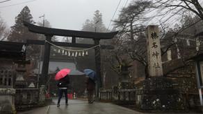 榛名神社と桑の苗