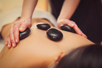 Hot stone massage massoterra