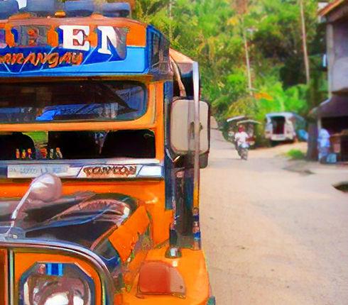 asiana hotel olongpo orang jeepney jeep