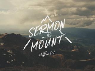 SERMON ON THE MOUNT Sermon Series