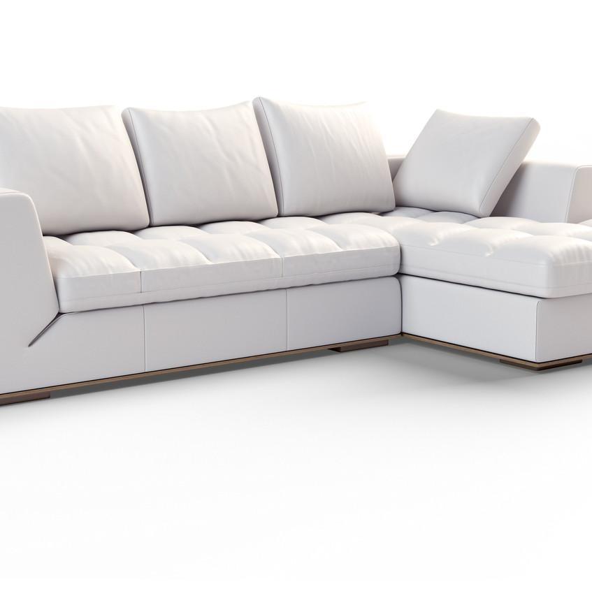 L Sofa Visualisierung