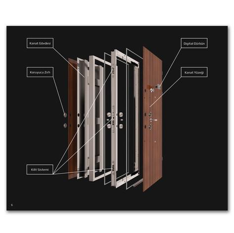 Çelik Kapı Detaylı Özellik Sayfası