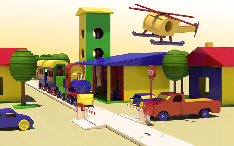 oyuncak ürün 3d tasarım çalışması