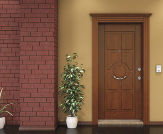 Ahşap Çelik Kapı