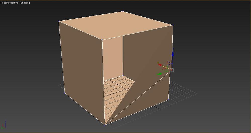3ds max içi boş kutu nesnesi