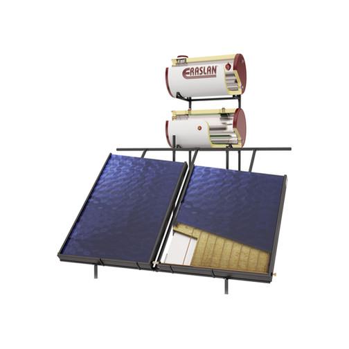 Warmwasser Solarenergie System
