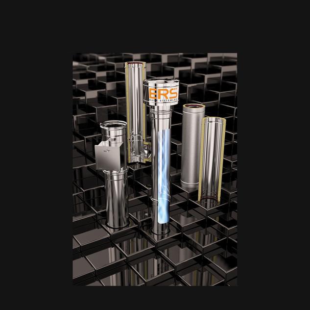 3D Endüstriyel Ürün Modellemesi