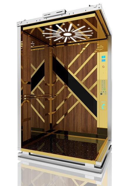 3d tasarım ile asansör kabin tasarımı