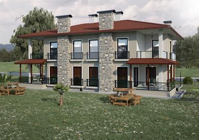 3D Villa Modelleme