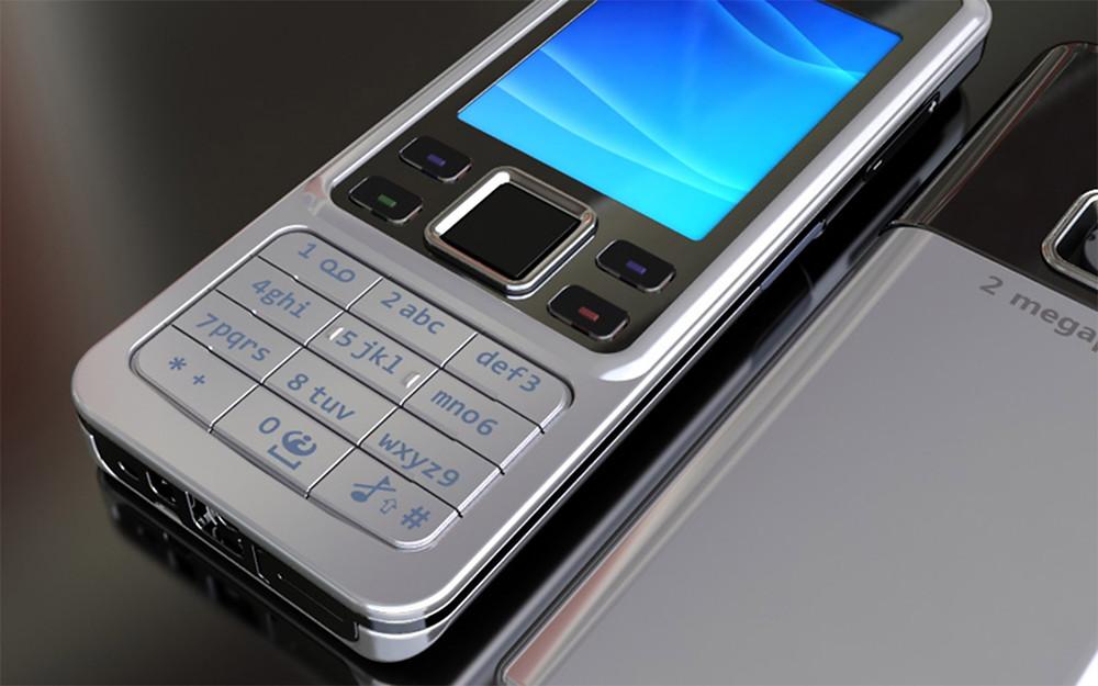 3D modelleme ile telefon modelleme