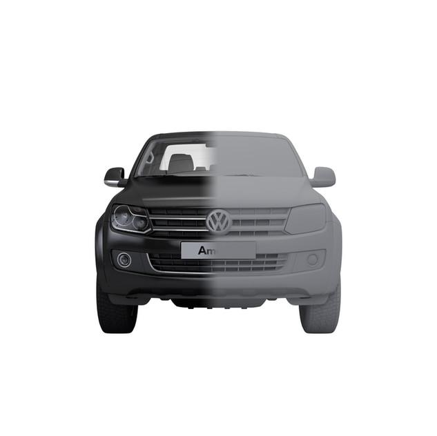 3D VW Amarok Modelleme