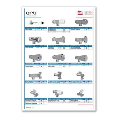 Katalog İç Sayfa Grafik Tasarımı