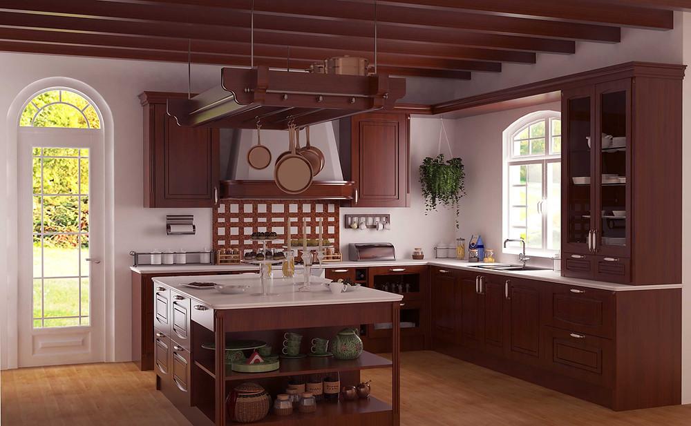 3D Küchen Visualisierung
