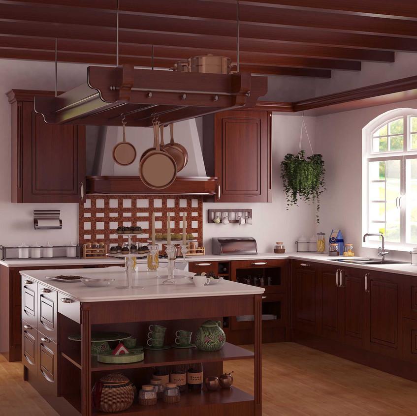 klasik_mutfak_3d_tasarımı