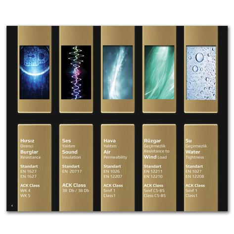 6 Renk Katalog Ürün Özelik Sayfası