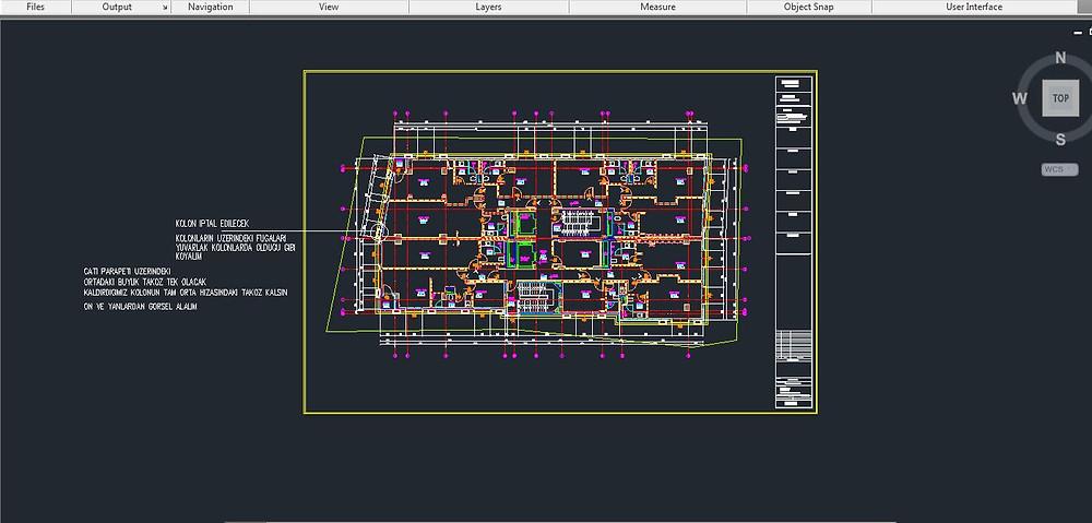 mimari proje dosyası