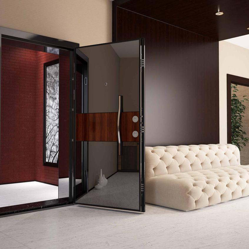 Çelik Kapı Sahne Modellemesi