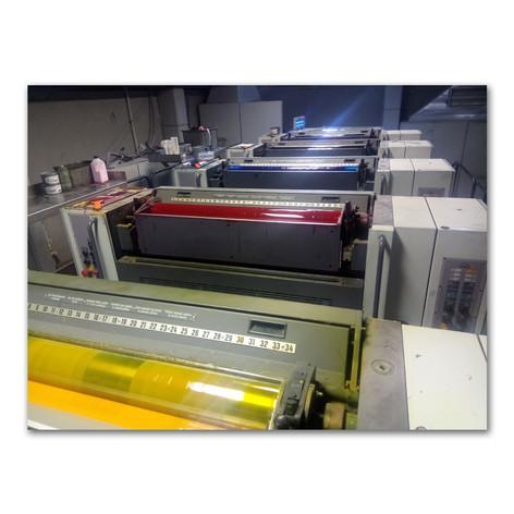 6 Renk Baskı Makinesi
