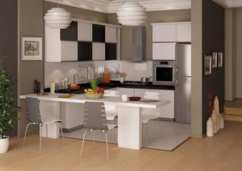 3D Mutfak Çizimi