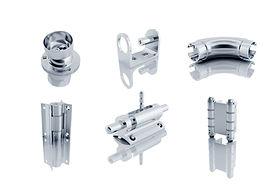 Aluminium-Handlaufteile