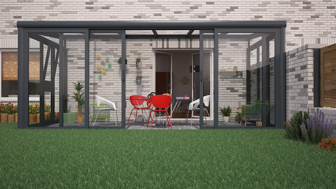 Veranda 3D Visualisierung