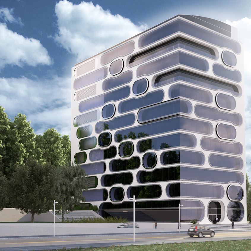 3d bina tasarımı