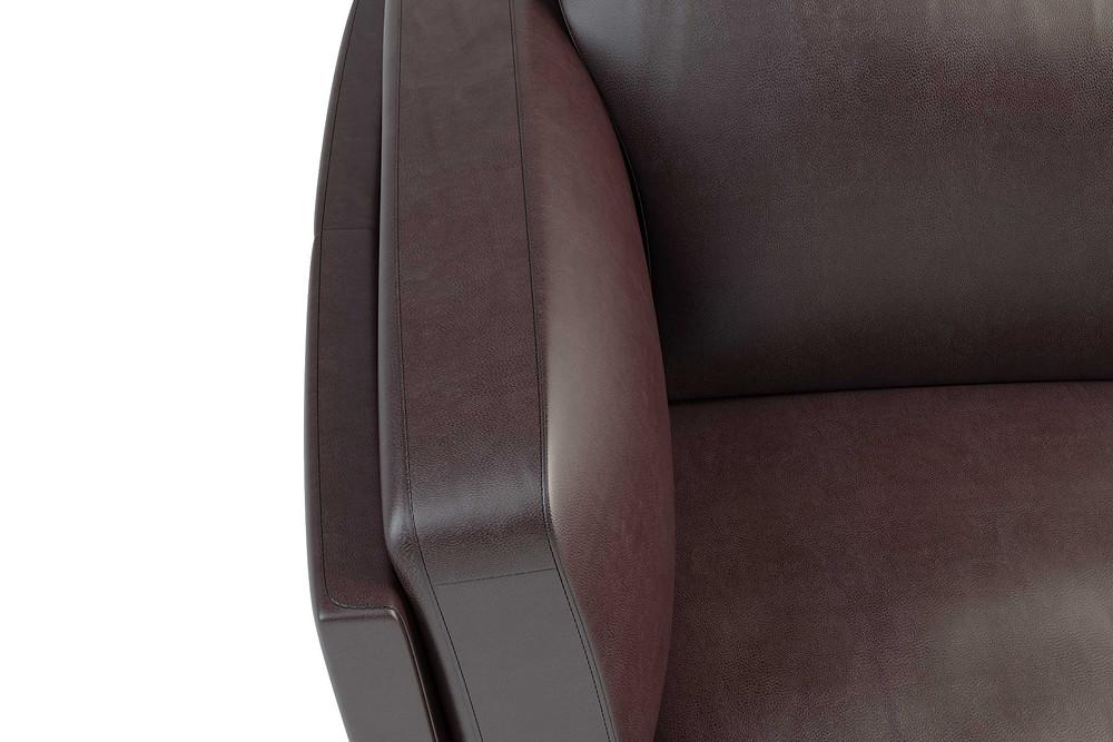 Detaillierte Möbel 3D Visualisierung