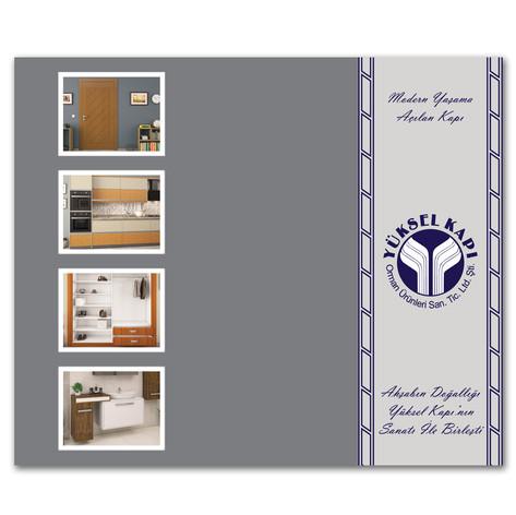 Katalog Tasarımı Fransıca İngilizce Kapak Tasarımı
